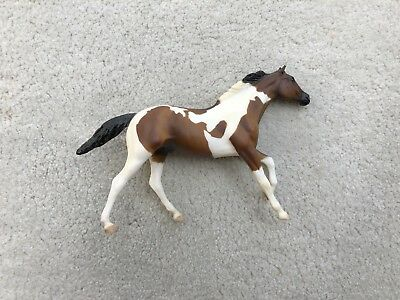 Retired Breyer Horse Paddock Pal #1615 Bay Tobiano Paint Thoroughbred Pinto