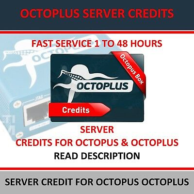 Fast Service Octopus, Octoplus Server Credit Pack (100 Credits )