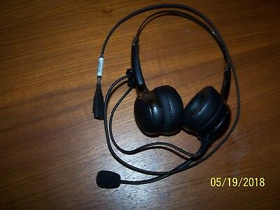 VXi  203349 Envoy 4c headset stereo USB wired. Over the head. Never used.
