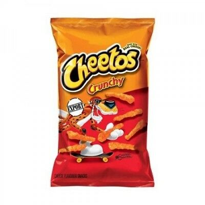 10 x Cheetos Crunchy Cheese 226.8g Bag - USA