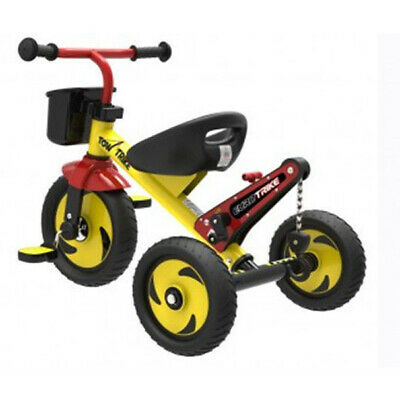Eurotrike Tow Trike - Kids Pedal Ride On Tow Trike With Working Tow Mast