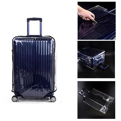 Luggage Case Protect Cover Transparent Dust Cover Suitcase Trolley Case Dust Bag