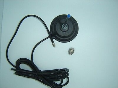 Large Magnetic Base 145mm with lead and connector & 1/4 Wave Antenna model 4782
