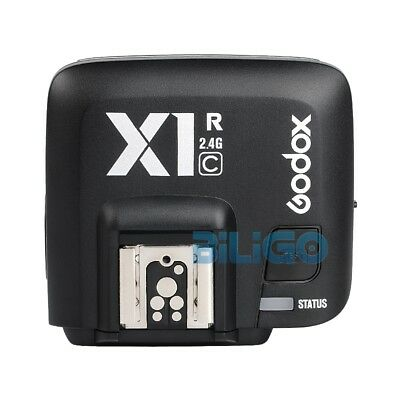 Godox X1R-C 2.4G HSS E-TTL Wireless Receiver For Canon DSLR Camera X1T-C Trigger