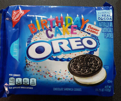 1 x Birthday Cake Oreo 432g Pack - USA