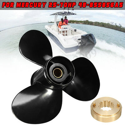 11 3/8 x 12 25-70HP Marine Boat Outboard Motor Propeller For Mercury 48-855856A5