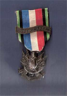 France 1870-71 Veterans Medal With Bar And Bouton Noir