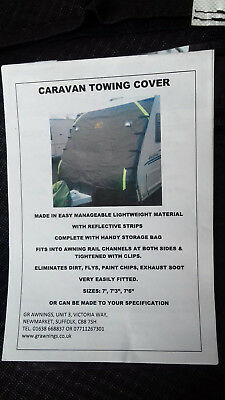 caravan front towing cover