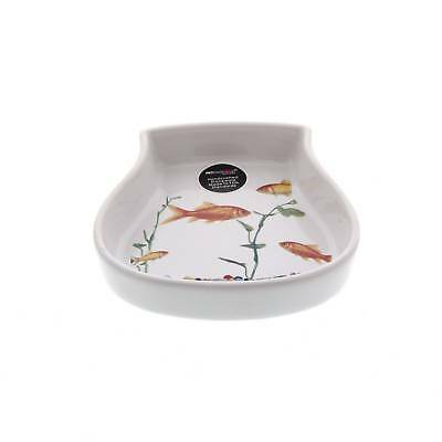 Cat Saucer In The Tank Fish Dishwasher & Microwave Safe Kitten Feed Food
