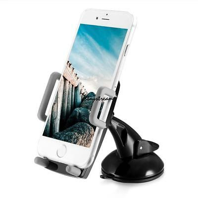 360° Car Holder Mount Bracket Suction For Mobile Cell Phone iPhone Samsung GPS