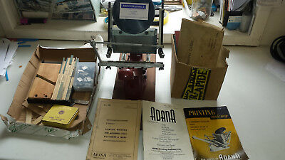 Adana 5 X 3 Letterpress Printing Press Machine