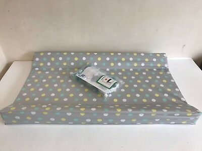 Mothercare Universal 203 Cot Top Changer Grey Polka Dot NEW OTHER A