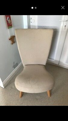 Kensington breast feeding and nursing chair Beige With Pump Lumbar Support