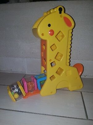 Jouet 1er âge girafe sonore à cubes fisher price