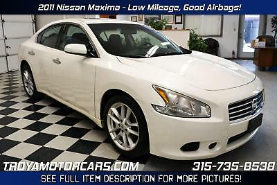 2011 Nissan Maxima MAKE AN OFFER 2011 Nissan Maxima 3.5L V6 Rebuildable Car Repairable Damaged Wrecked