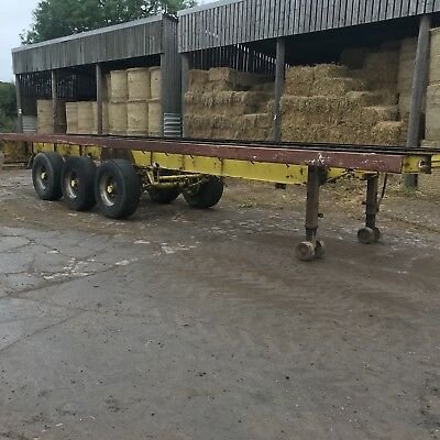 Artic Tri Axle Trailer Bale Trailer