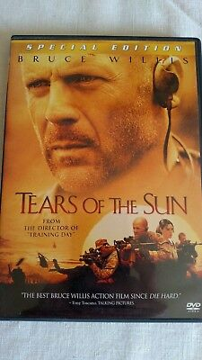 Tears of the Sun (DVD, 2003, Special Edition) Starring Bruce Willis
