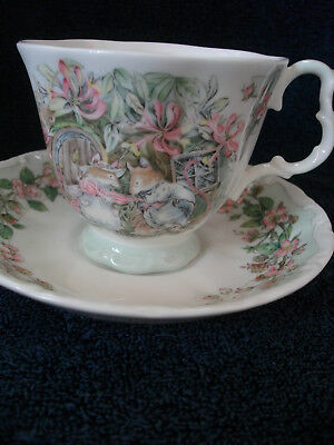 Royal Doulton England Brambly Hedge Full Size Summer Cup And Saucer 1St Quality