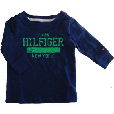 Genuine Baby boys Tommy Hilfiger long sleeved top age  3 - 6 mths