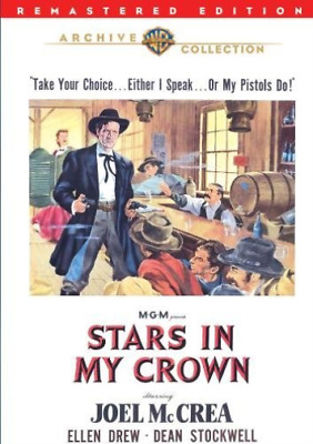 STARS IN MY CROWN / (RMST)-Stars In My Crown DVD NEW