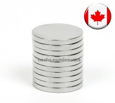 "120pcs Rare Earth Magnet 6mm x 2mm 1/4""x1/12"" Strong Neodymium N50 Warhammer 40k"