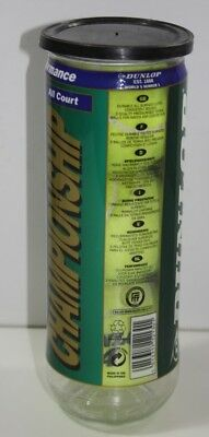 Dunlop tennis balls Pack of 3 in airtight unopened ring pull container