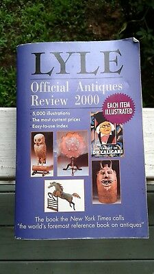 Lyle Official Antiques Review 2000 pictures amd prices included