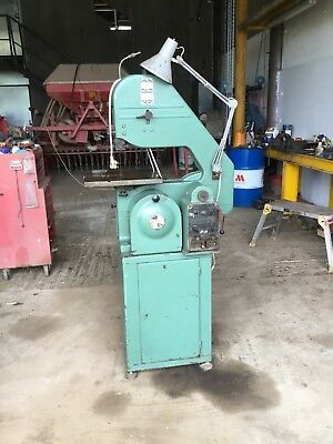 Startrie Band Saw c/w Band Welder single phase serial no. A1389