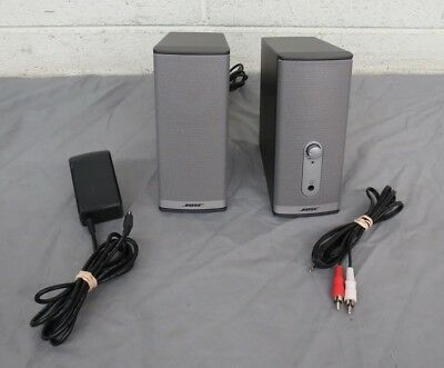 Bose Companion 2 Series II Powered Multi-Media/Computer Speakers EXCELLENT LOOK
