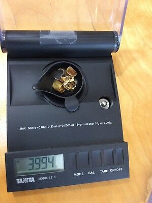 Scrap Dental 20-22k GOLD. 3.994 grams/2.6dwt very clean,