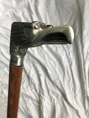 Anheuser-Busch Eagle Head Cane - Early 20th Century Advertising