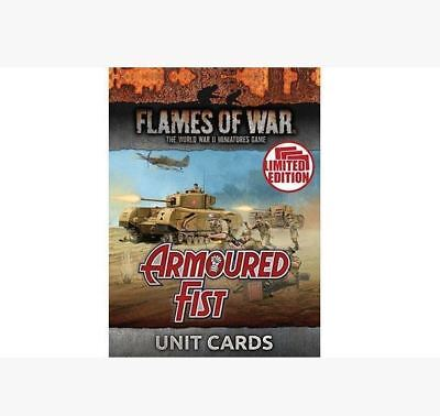 Flames of War: Armoured Fist Unit Cards