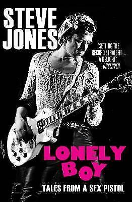 Steve Jones-Lonely Boy: Tales from a Sex Pistol-new book