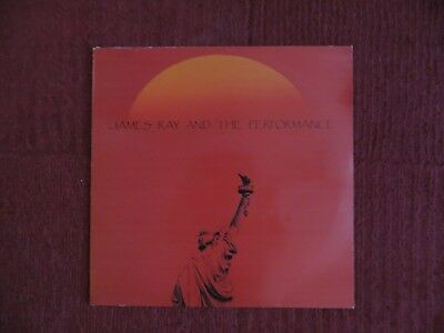 """James Ray And The Performance - Texas 12"""" - Goth Rock"""