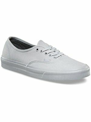 beb072f2b2 Vans Off the Wall Authentic Mono Surplus Microchip Gray Mens 13 Canvas Shoes