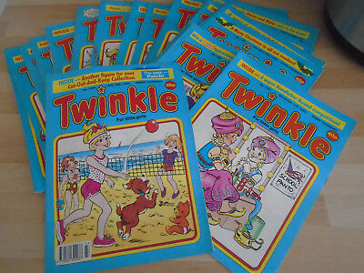 39 TWINKLE  COMICS FROM 1993, issues on listing