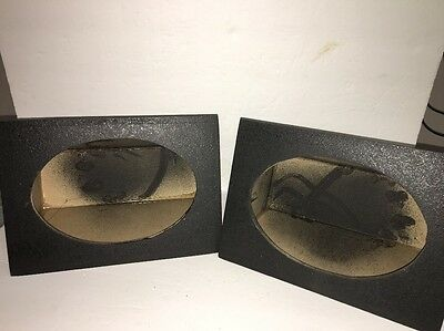 "Amazing Angled Style 6""x9""Car Audio Speaker Box Enclosures PAIR-BLACK-SHIPS N 24"