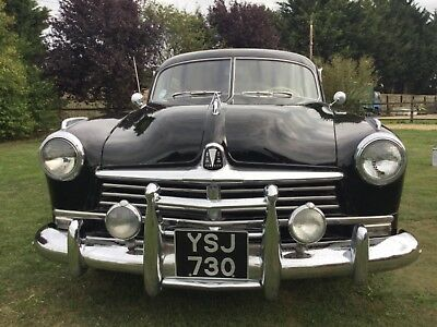 1949 HUDSON COMMODORE. Beautiful design.Superb interior. Fitted with sweet V8.