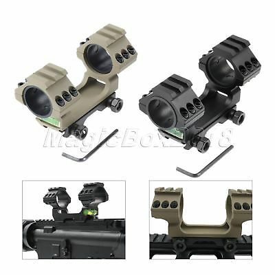 Dual Rings Cantilever Rifle Scope Mount Bubble Level 20mm Weaver Picatinny Rail