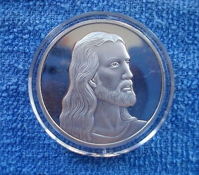 Jesus The Last Supper Commemorative Silver Plated Coin - Free Shipping!