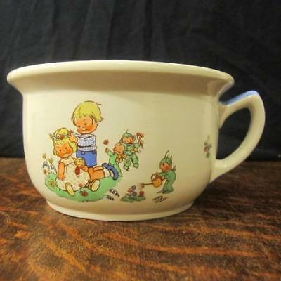 Vintage Shelley Mabel Lucie Attwell Nursery Ware Childs Potty