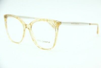 1411fdb0fbc New Dolce   Gabbana Dg 3278 3146 Gold Authentic Eyeglasses Frame Dg3246 54- 17