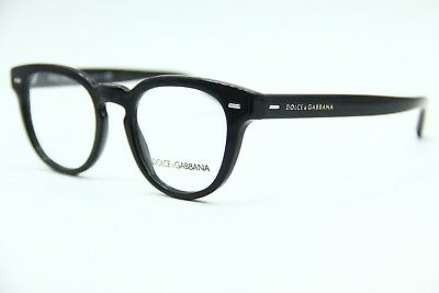 2bf7d6e6c2c4 New Dolce   Gabbana Dg 3225 501 Black Authentic Eyeglasses Frame Dg3225 48- 20