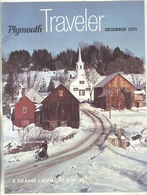 December 1971 Plymouth Traveler Factory Magazine Brochure wz6869