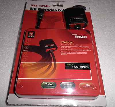 FIREWIRE IEEE-1394B 5m REPEATER CABLE – 800 Mbps
