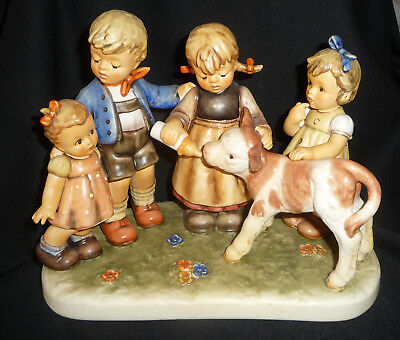 """Vintage 2003 Hummel MOMENTS IN TIME """"FARM DAYS"""" Artist Intials/ Numbered ~~TMK 8"""