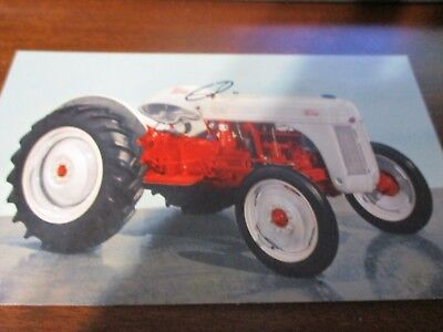 Ford Tractor postcard
