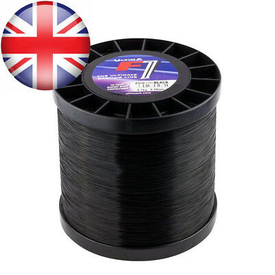 Ultima F1 Sea Fishing Line - Black or Gold Titanium 4oz Spool