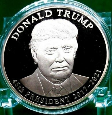 Donald Trump Presidential Dollar Trial Commemorative Coin