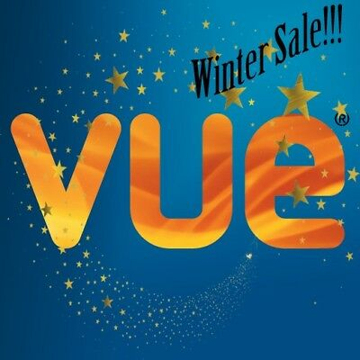VUE!! cinema ticket code SUPER SALE! Discounted Price! (2D) LONDON